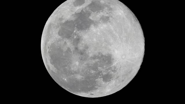 The Pink Supermoon is seen in Mexico City