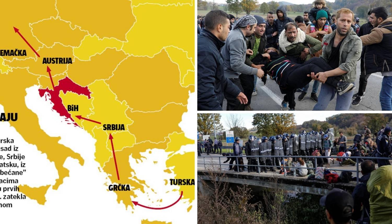 Migranti čekaju kod Maljevca: 'Otvorite granicu, molimo vas'