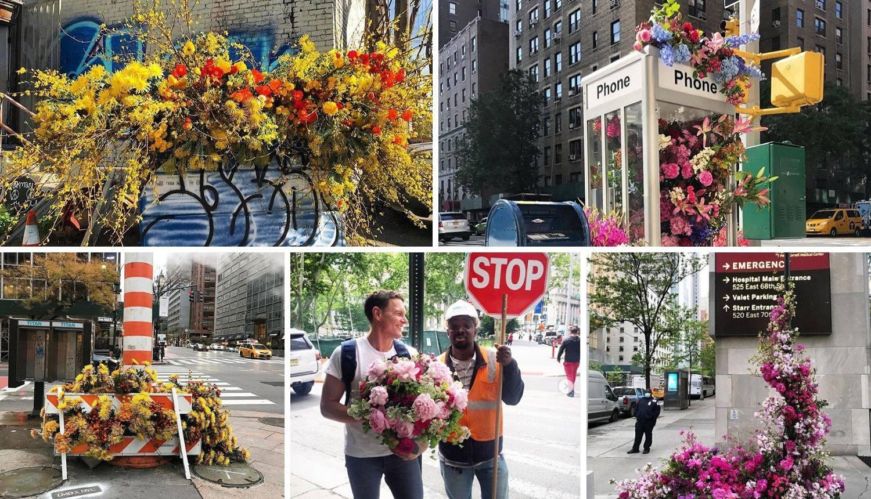 Cvjećar uljepšava New York kad želi i nitko ga ne prijavljuje