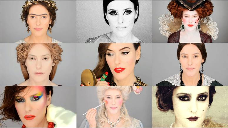 Šminkanje kroz povijest: Žene su radile sve i svašta sa sobom
