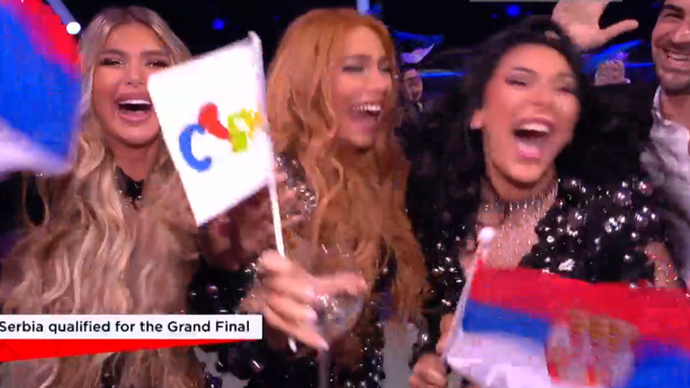 Uraganke su u finalu Eurosonga