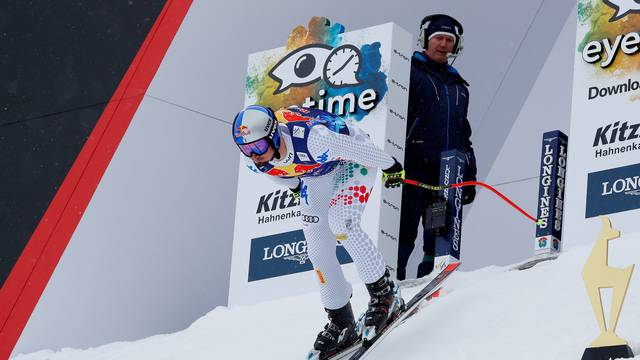 Alpine Ski World Cup Kitzbuehel - Men's Downhill Training