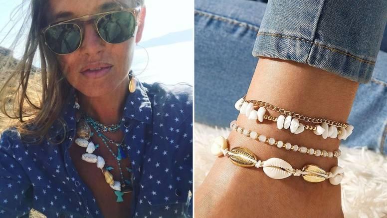 Ljetni nakit: Od šarenih ogrlica pa do chic narukvica za gležanj
