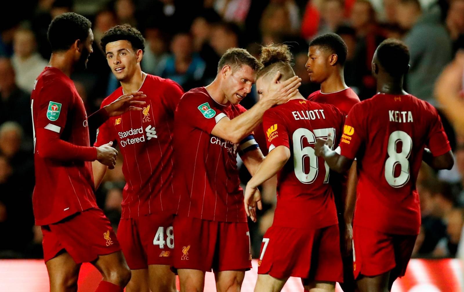 Carabao Cup - Third Round - Milton Keynes Dons v Liverpool