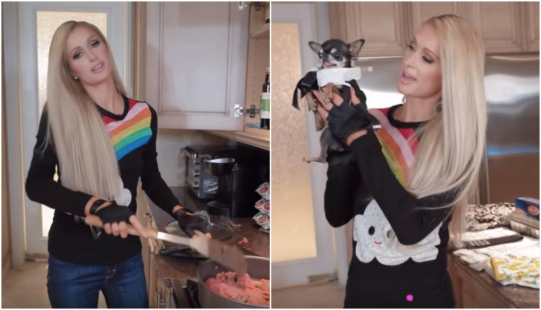Paris ima svoj kulinarski show: Pomaže joj čivava u Chanelu...