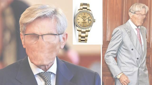 Horvatinčić na suđenju imao blještavi sat: Rolex ili kopija?