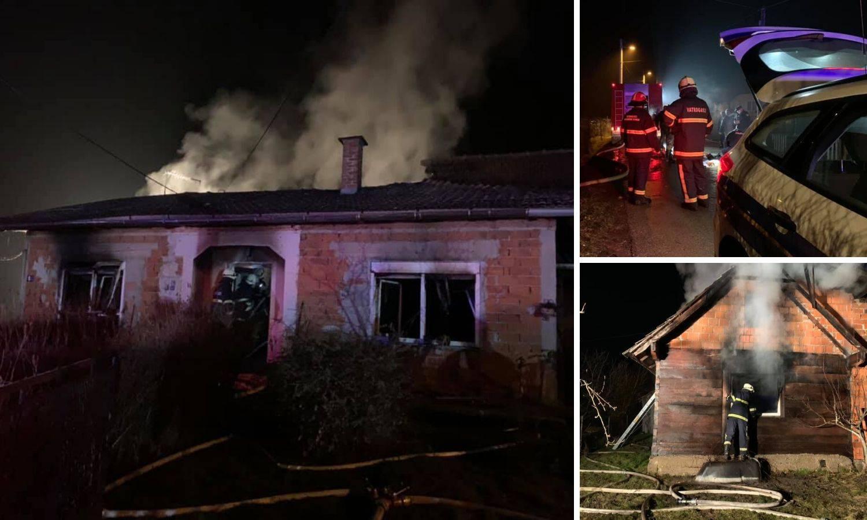 Susjedi ga iznijeli iz kuće u plamenu, preminuo muškarac