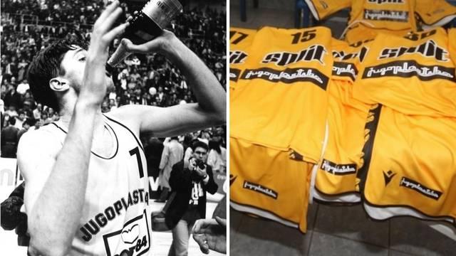 U čast na slavne dane: Split na dres vraća ime 'Jugoplastika'!