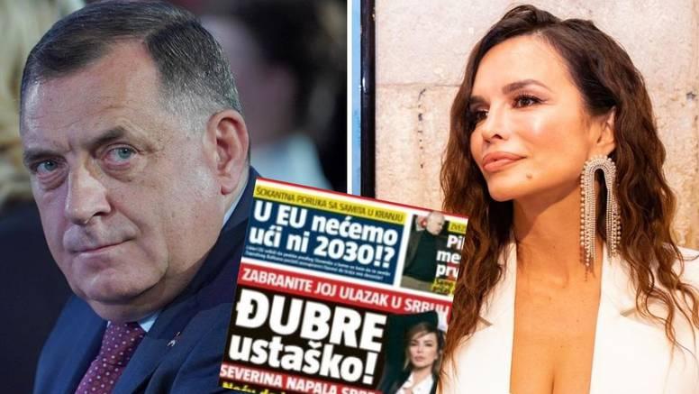 Severinu izvrijeđali, javio se i Dodik: 'Ne bih se sjetio neke njene pjesme ni da me streljate'