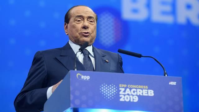 Zagreb: Govor Silvija Berlusconija na kongresu Europske pučke stranke