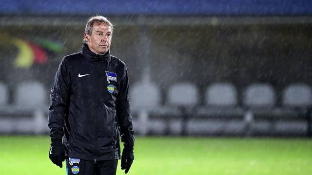 New coach at Hertha BSC