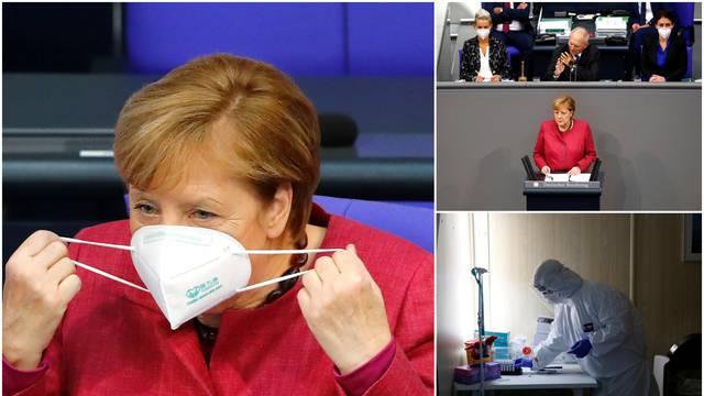 Merkel: Kontakti među ljudima moraju se smanjiti za 75 posto!