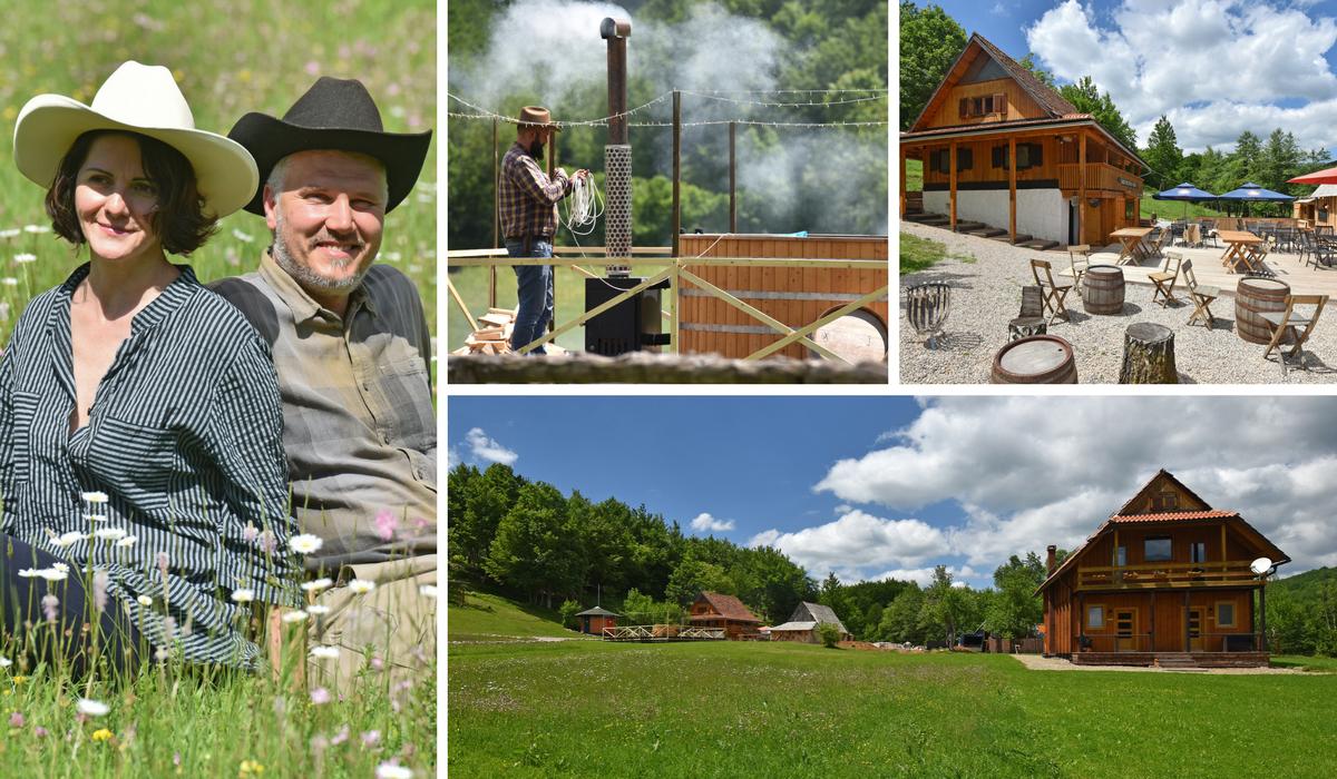 Kauboji u Lici: Doktor znanosti iz SAD-a otvorio luksuzni ranč