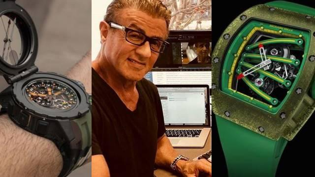 Sylvester Stallone prodaje pet luksuznih limitiranih satova