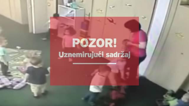 Šokantni video: Objavio snimku zlostavljanja svog sina u vrtiću