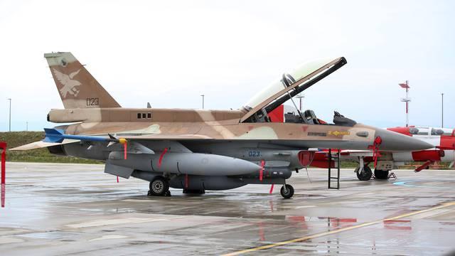 Zagreb: Borbeni avioni F-16 Barak Izraelskog ratnog zrakoplovstva