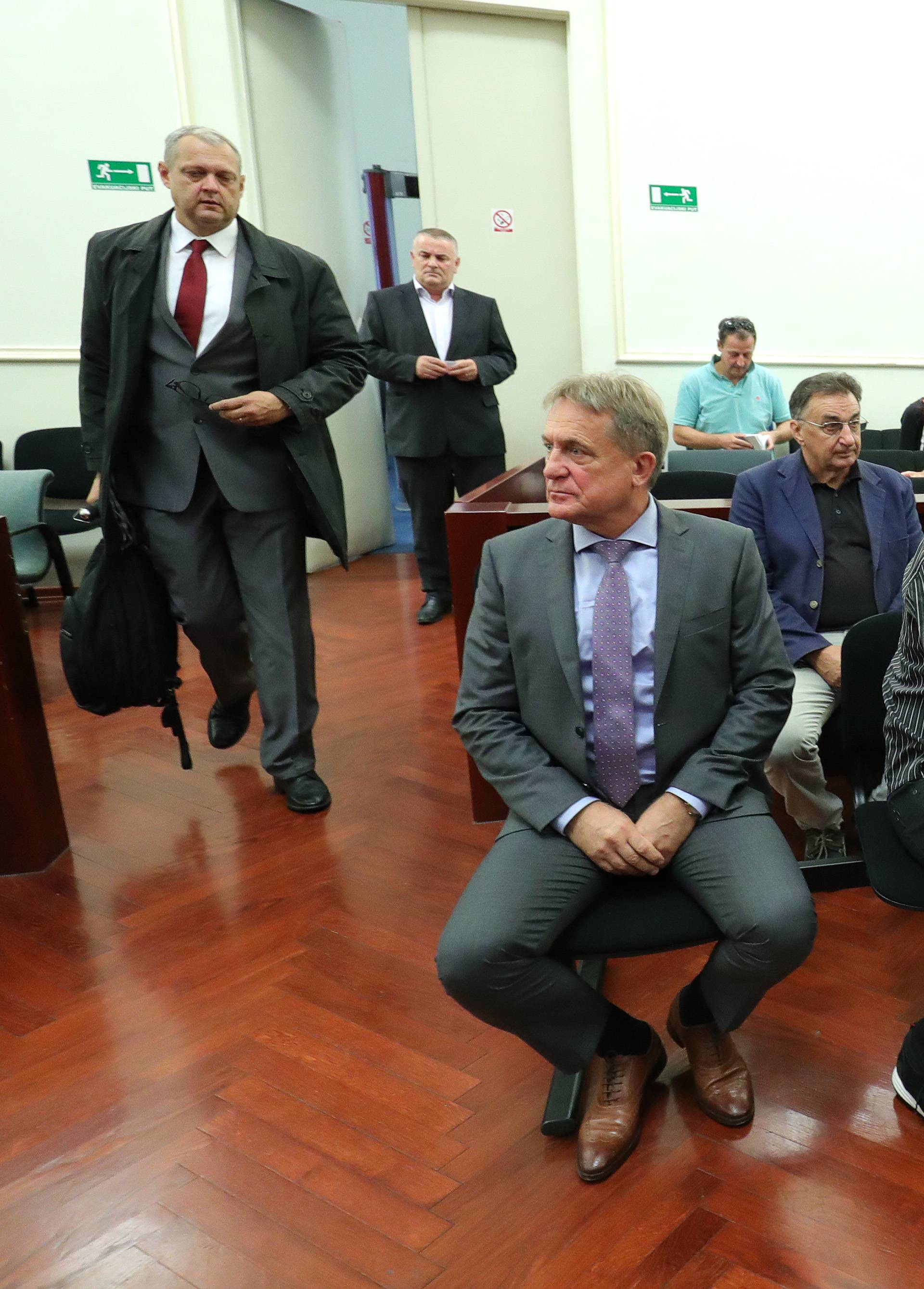 Zagreb: Drago Tadić svjedočio na suđenju sudu o aferi HGK - remorker