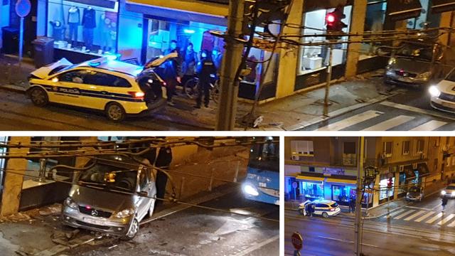 Policajci se sudarili s autom u Zagrebu: 'Bili su pod rotirkama'