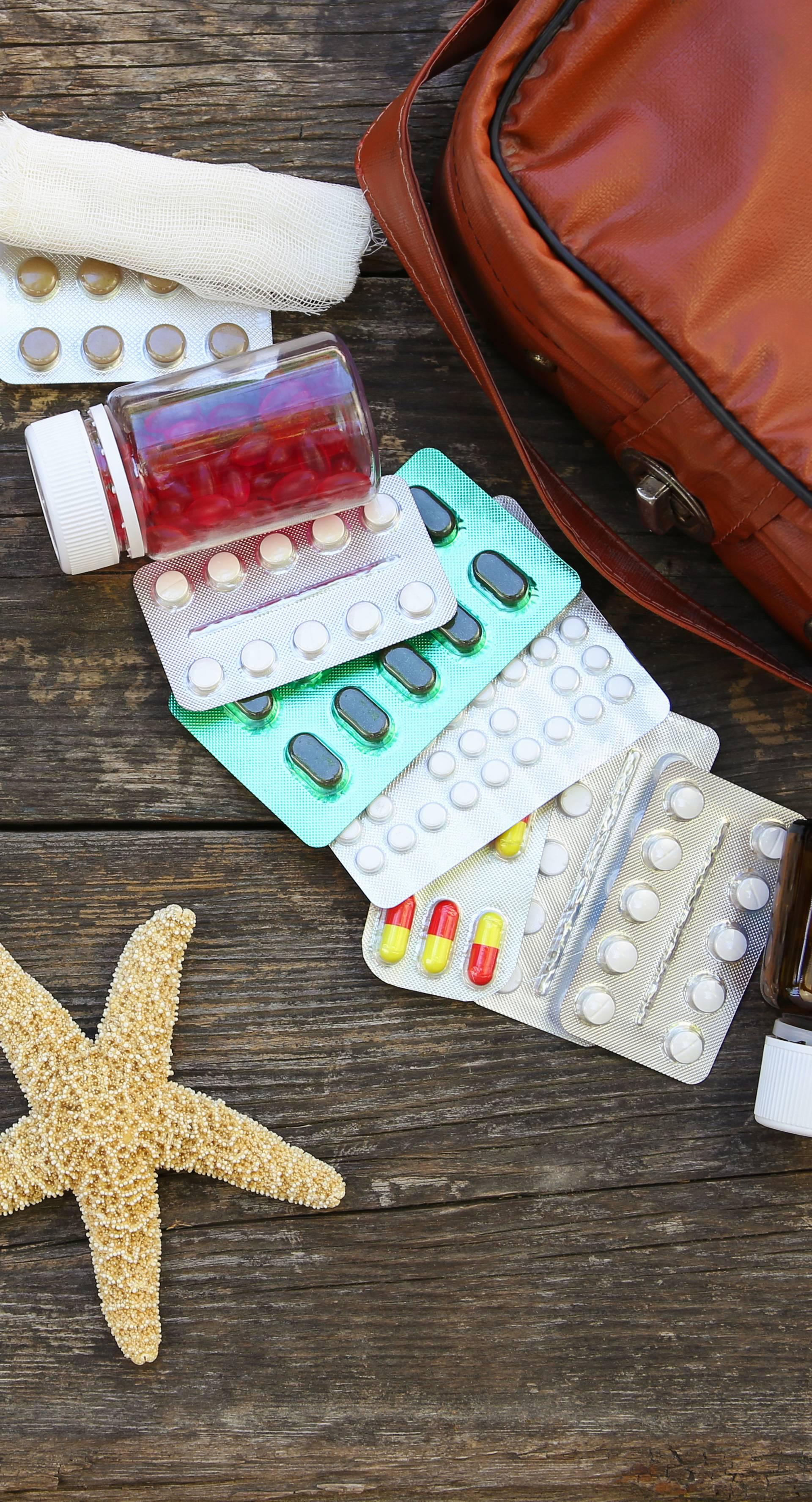 Za svaki slučaj: Nikad ne idite na godišnji odmor bez apoteke