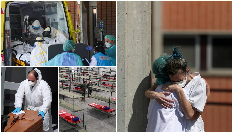 Madrid: Na klizalištu odlažu mrtva tijela, građani zabrinuti