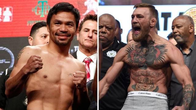 Službeno: Pacquiao i McGregor boksaju sredinom iduće godine