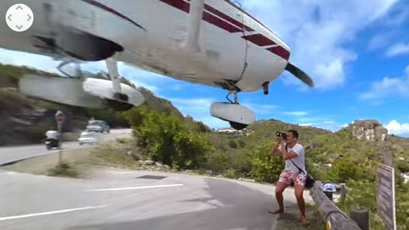 Bliski susret: U glavu ga skoro 'pogodio' avion koji je slijetao