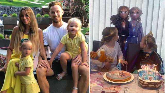 Rakitići slave rođendan kćeri Adare: Jako te volimo princezo