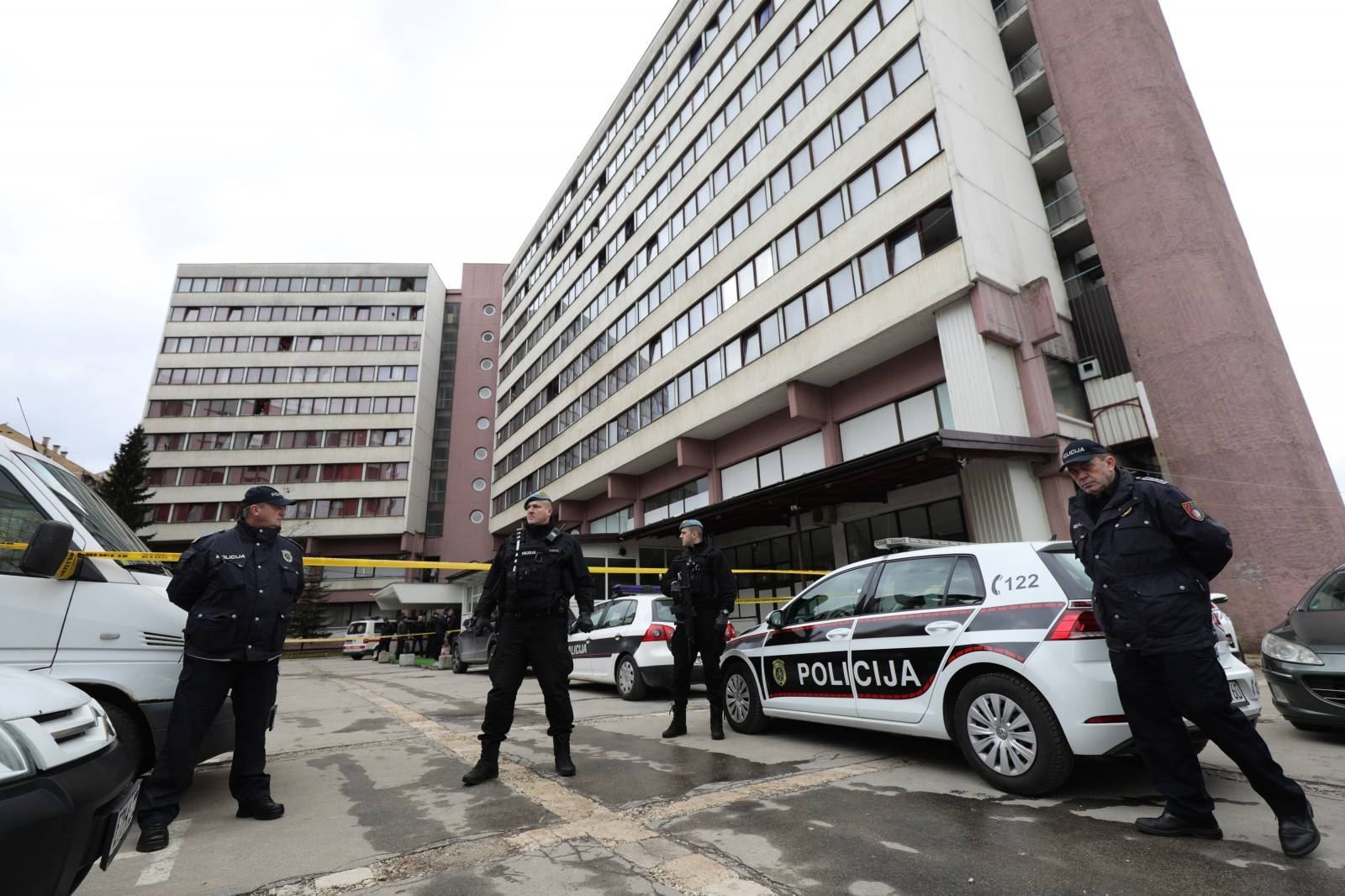 Ubojstvo u Studentskom domu u Sarajevu