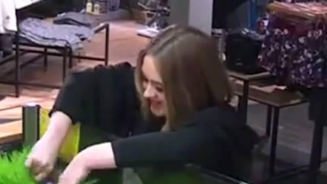 Svidjela joj se trava: Adele napravila spektakl u kafiću