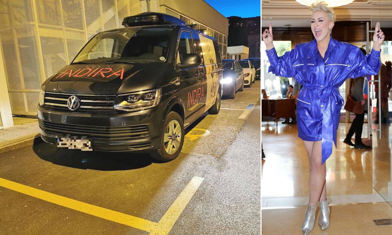 Indira parkirala na mjesto za invalide: 'Stali smo nakratko'