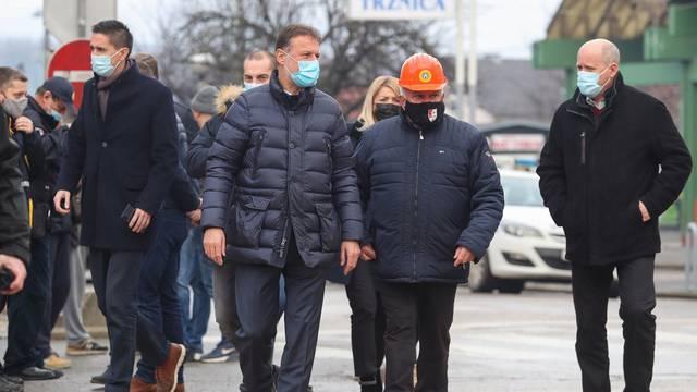 Predsjednik Sabora Gordan Jandroković obišao je Petrinju