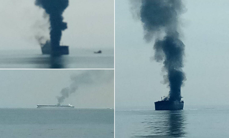 Čuli smo eksploziju i tanker je počeo gorjeti, evakuirali su nas