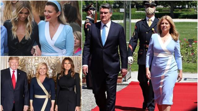 Mehun: 'Slovačka predsjednica Čaputova je obukla kopiju moje haljine za susret s Milanovićem'