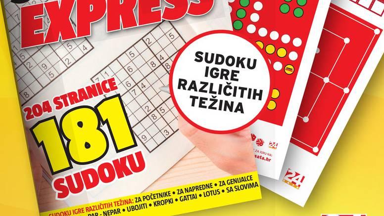 """Uz novi Sudoku Express na poklon društvene igre """"Čovječe ne ljuti se"""" i """"Mlin"""""""
