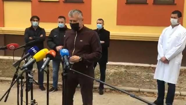 HNS donirao 200.000 kn bolnici u Varaždinu; Šuker: Iritira me kad nas zovu močvarom...