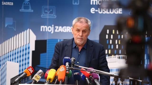 Zagreb: Prvi sastanak Kriznog stožera na temu razornog potresa i pandemije viusa Covid-19