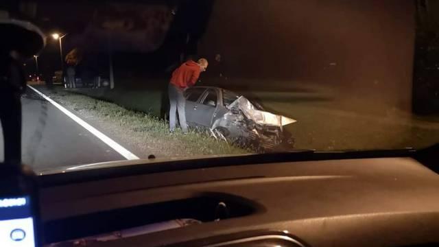 Drugi sudar u dva dana: Jedan ozlijeđen u sudaru tri auta