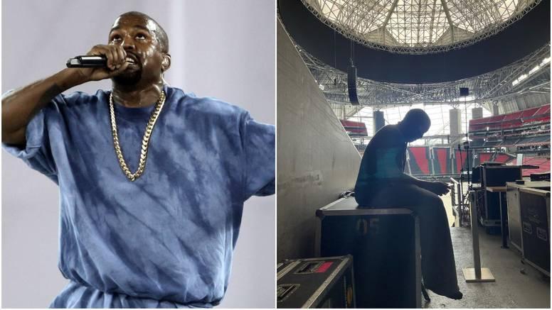 Kanye ne želi napustiti stadion dok ne završi svoj novi album