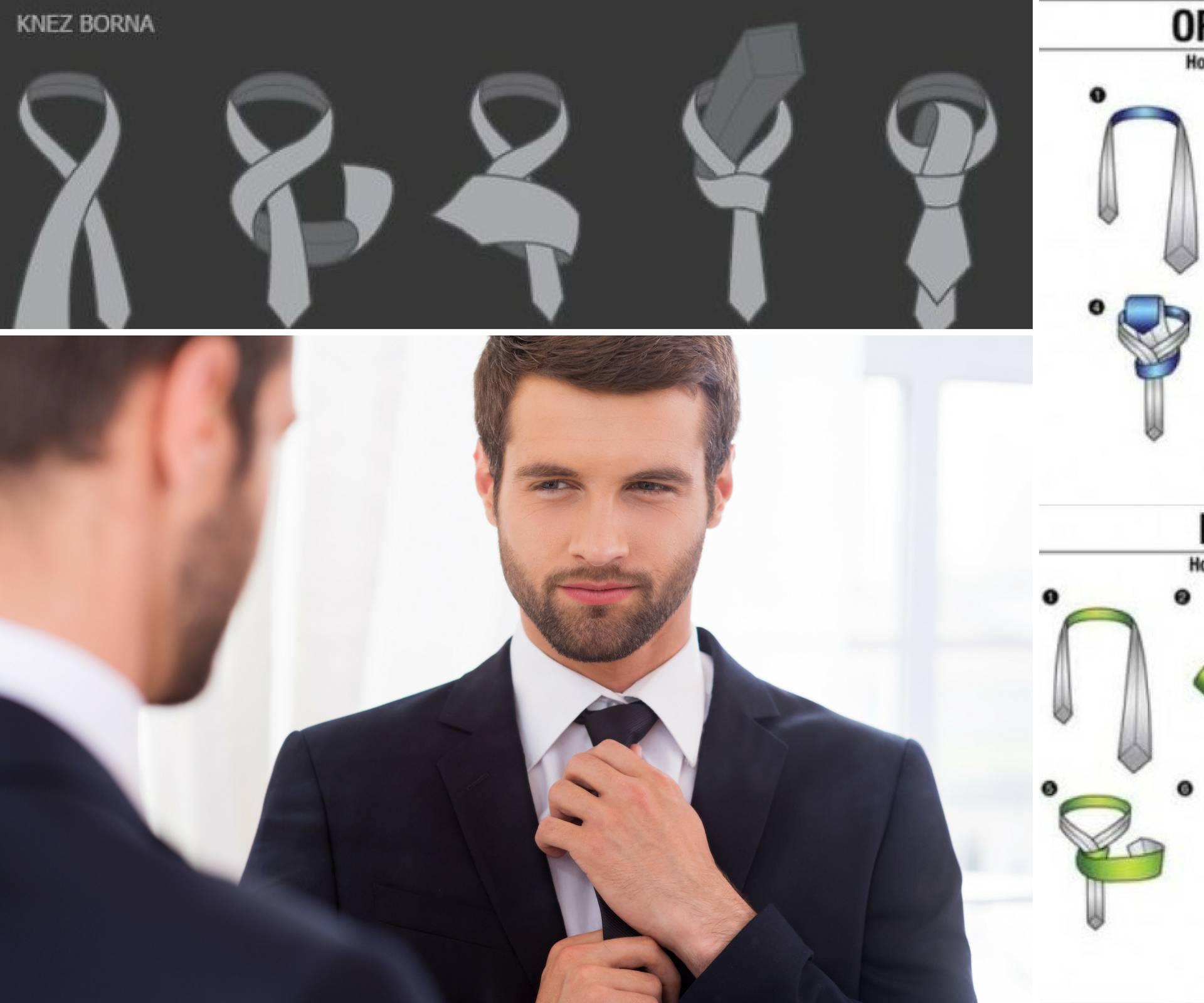 20 načina kako svezati kravatu i iskombinirati ju s košuljom...