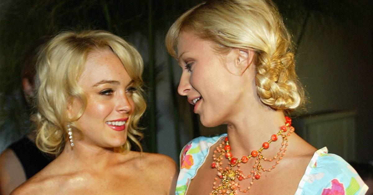 Lindsay Lohan i Paris Hilton