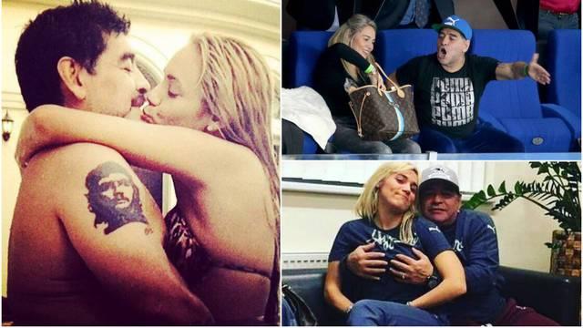 Maradona i 30 godina mlađa zaručnica svađali su se i mirili, bili su u Hrvatskoj pa prekinuli