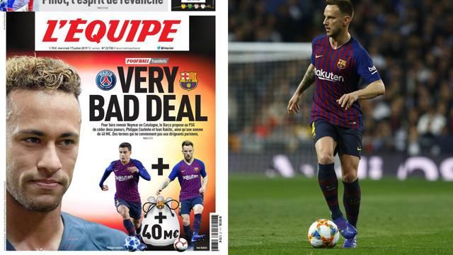 Tuchel: 'Da, Neymar želi otići!' Barcelona je ponudila Rakitića?