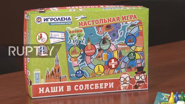 Ruski 'Monopoly': Kako doći do Engleske i otrovati špijuna...?