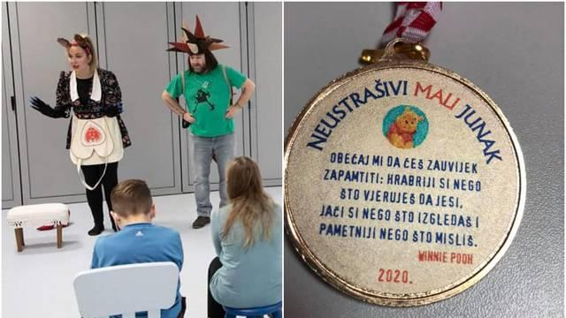 Mališanima će nakon predstave dodjeljivati medalju za hrabrost