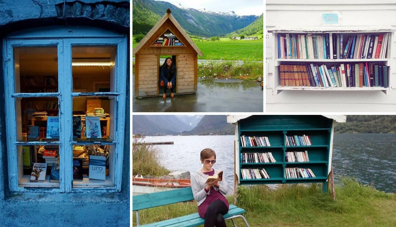 Ovaj norveški gradić pretvorio je napuštene kuće u knjižnice