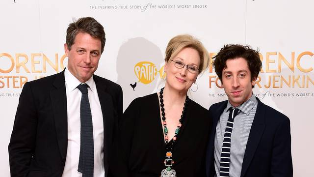 Florence Foster Jenkins World Premiere - London