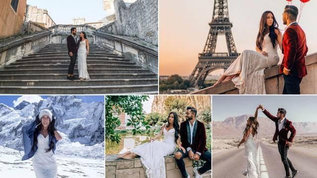Proputovali 32 zemlje i ponovili bračne zavjete u cijelom svijetu