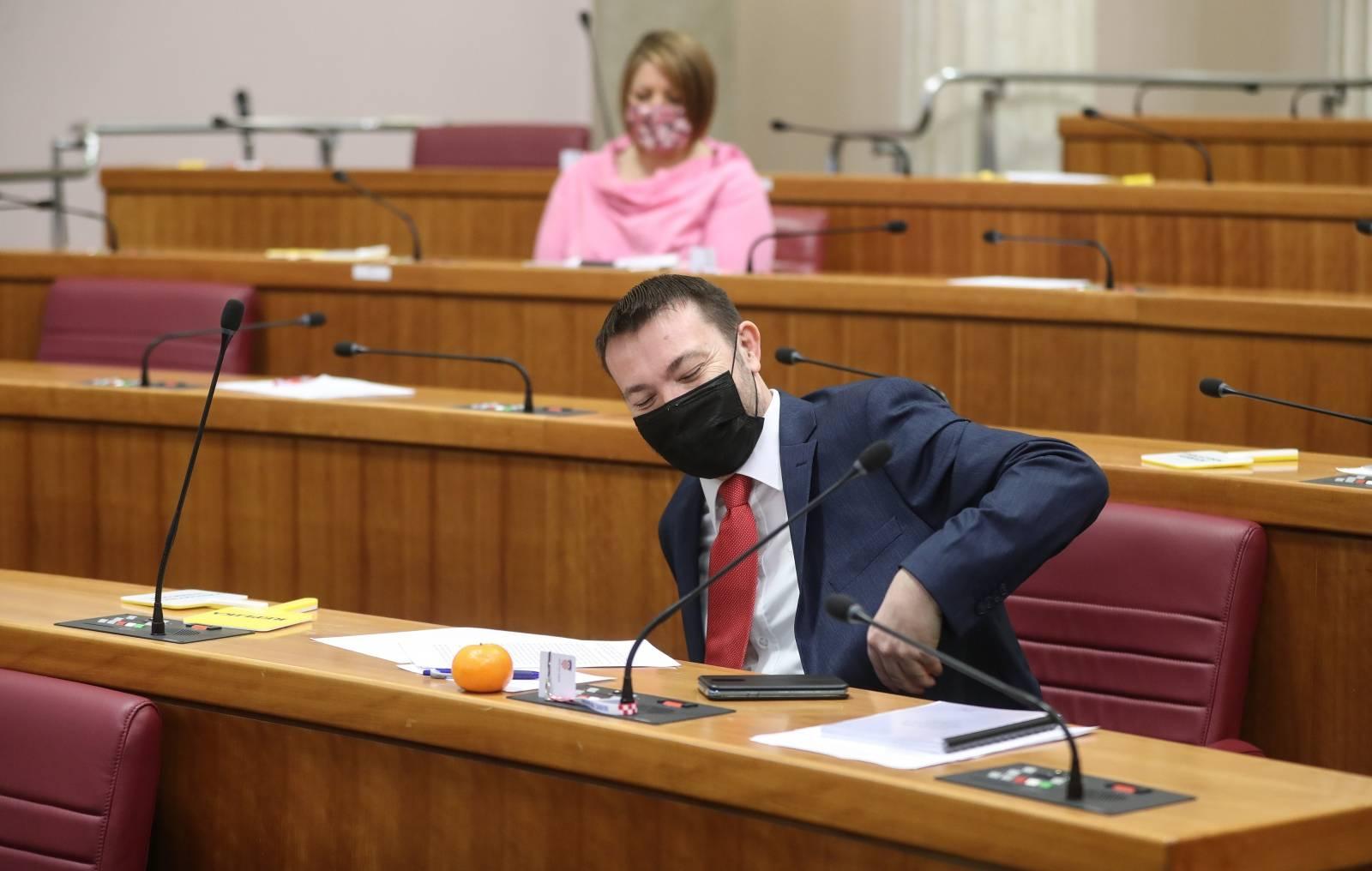 Zagreb: Sabora nastavio sjednicu raspravom o izmjenama Zakona o otocima
