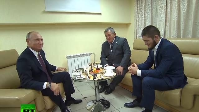 Putin Khabibu: Svi mi možemo tako reagirati ako nas napadnu