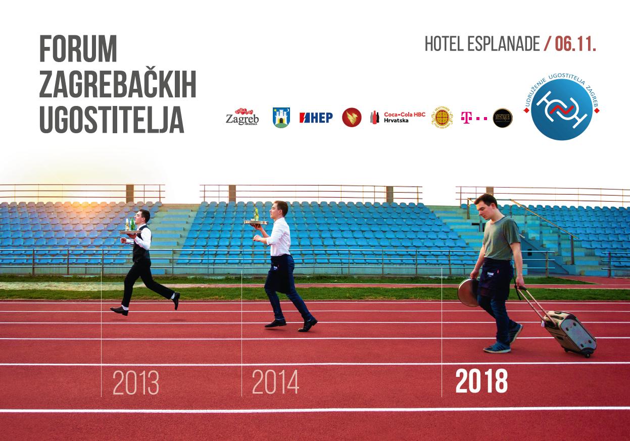 Udruženje ugostitelja Zagreb organizira Forum u Esplanadi